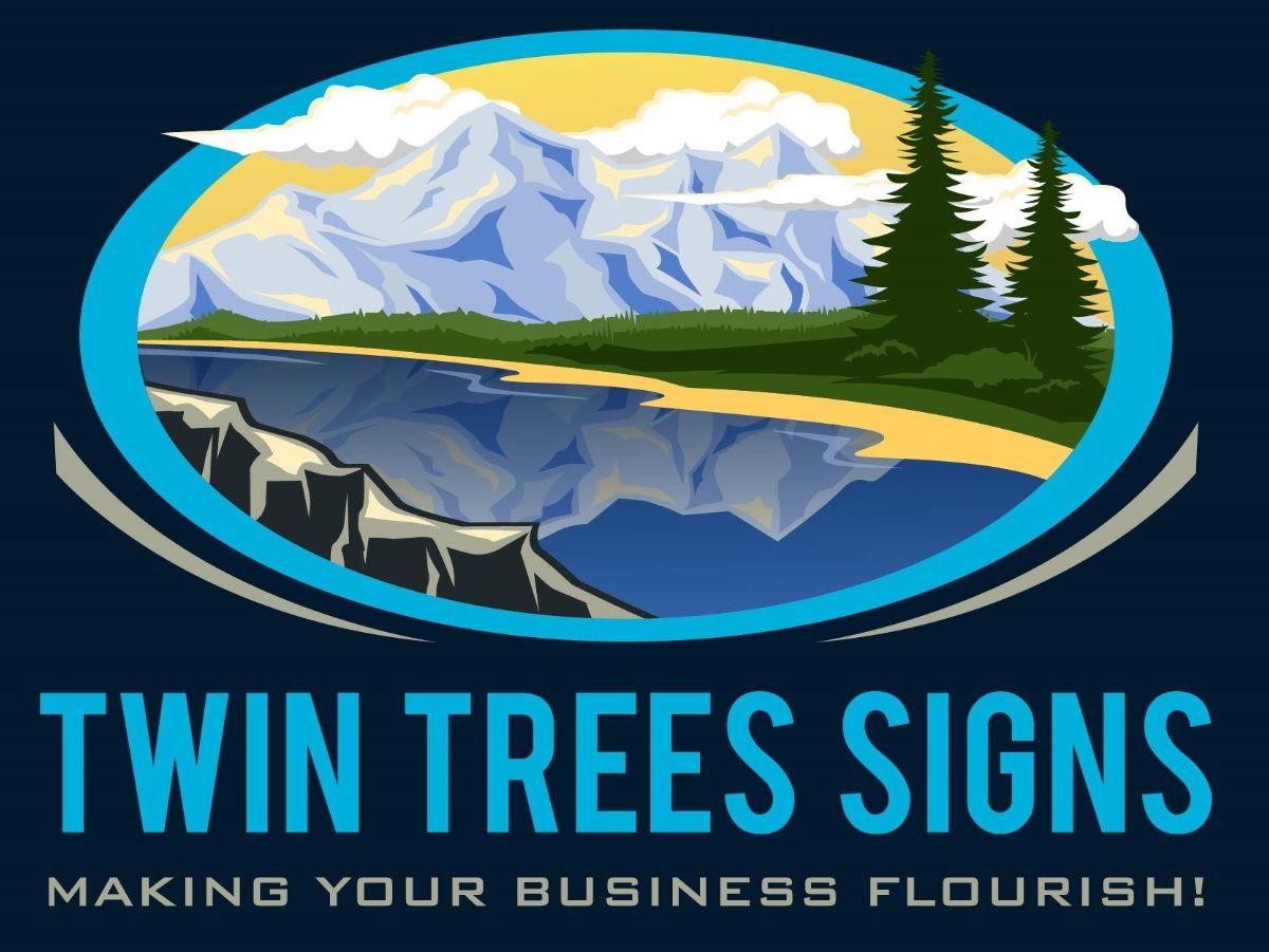 Twin Tree Signs
